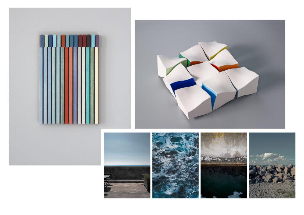 """Neue Ausstellung """"zueinander. Farbe - Körper - Struktur"""""""